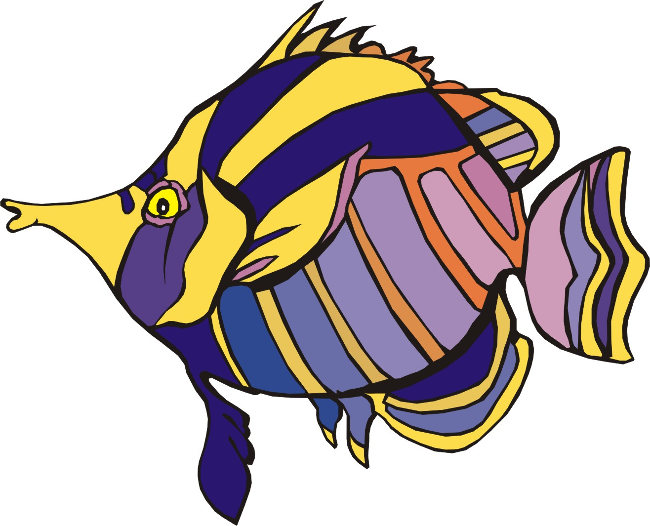 Animated Cartoon Fish