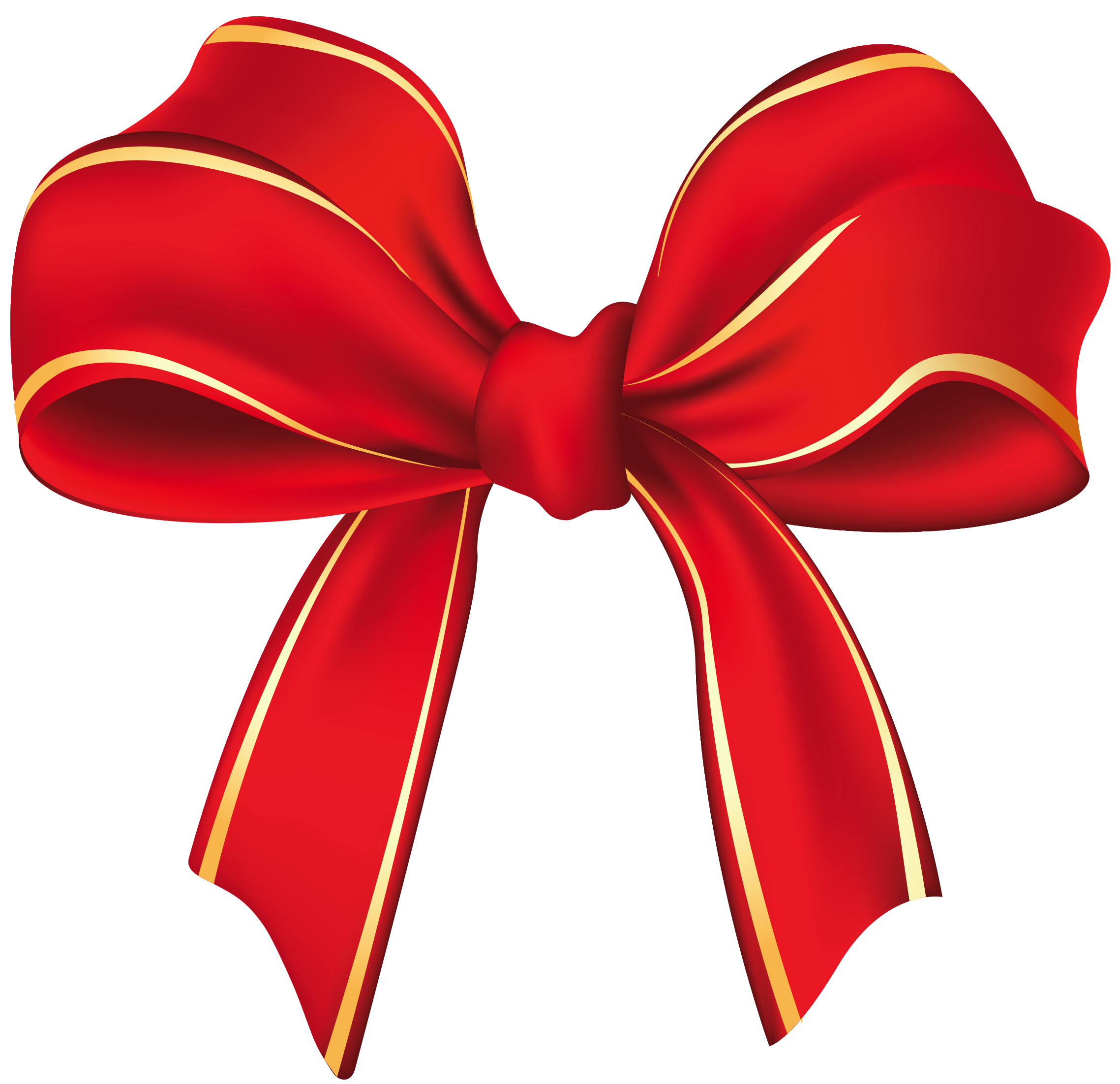 Bow Christmas Decoration Clipart