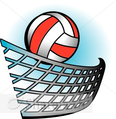 Volleyball Clipart - Clipart Bay