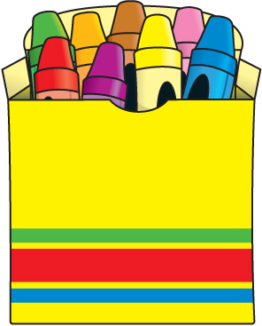 Clipart Crayons Clipart Bay