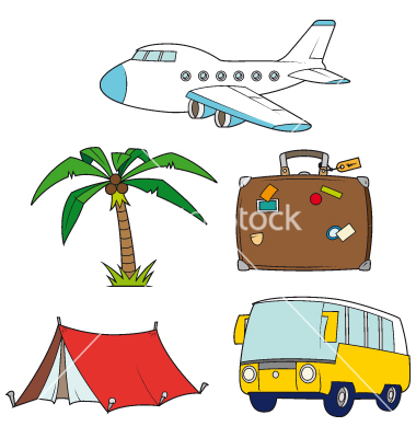 Holiday Travel Clipart