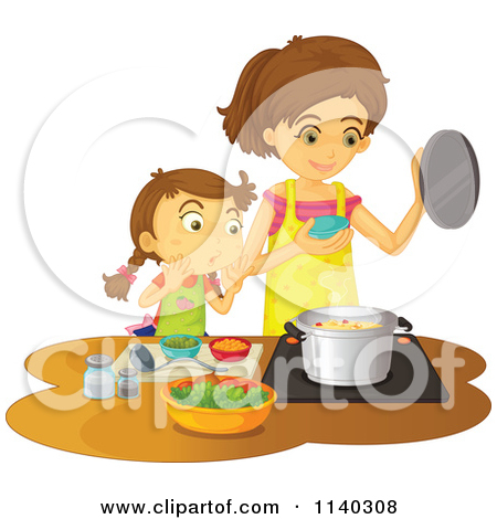 mom cooking clipart free clip art clipart bay