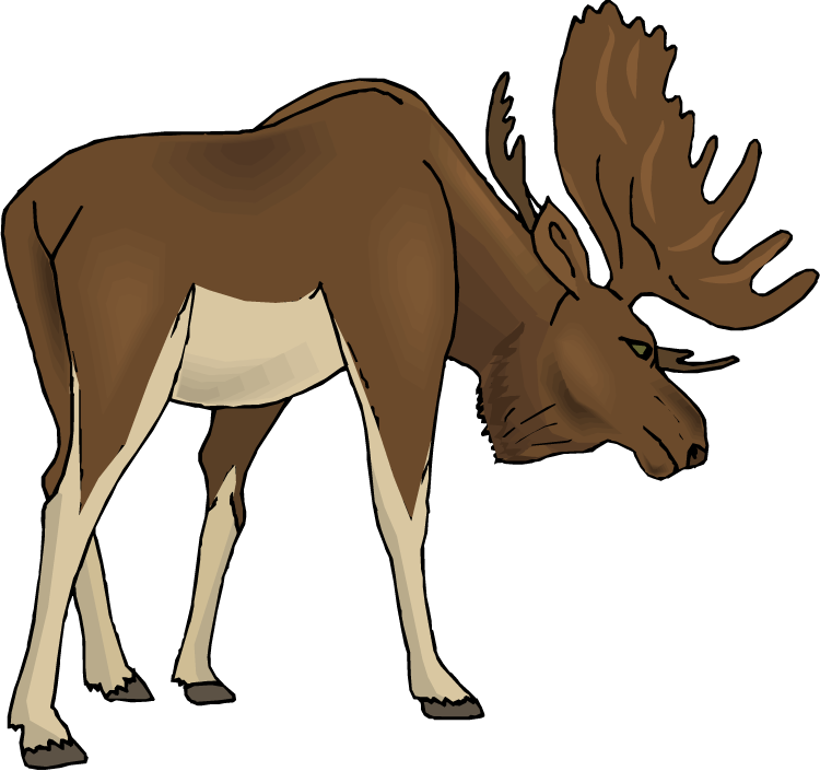 Moose Clipart Free