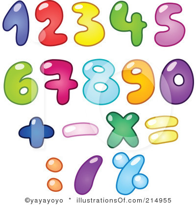 Numbers Clipart Free
