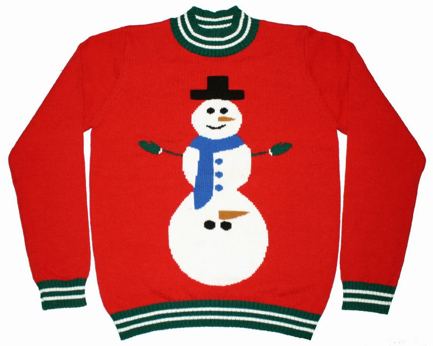 Christmas Sweater Clipart.Snowman Ugly Christmas Sweater Clipart Clip Art Bay