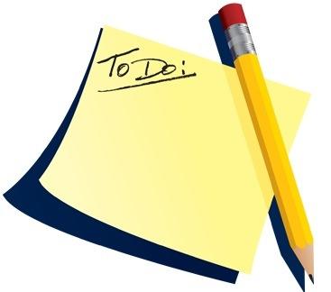 Things to Do List Clip Art - ClipartBay.com
