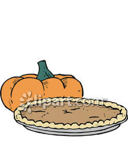Pumpkin Pie Clipart - Clipart Bay