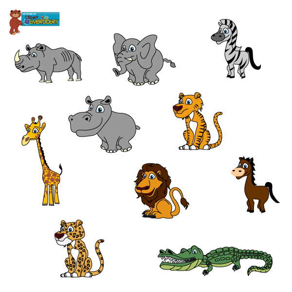 Wild animal clipart